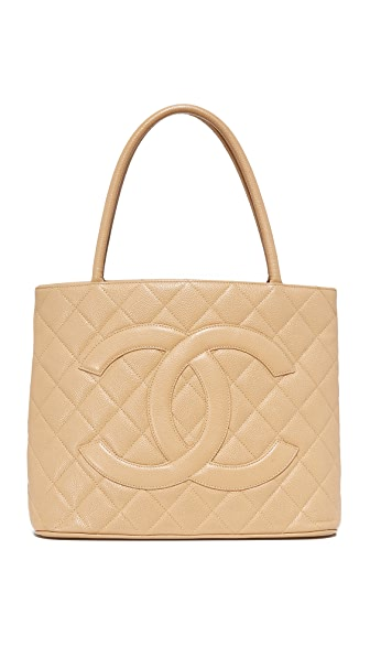 What Goes Around Comes Around Chanel Medallion Tote (Previously Owned)