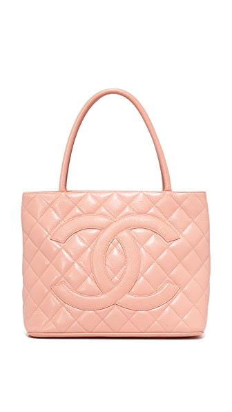 What Goes Around Comes Around Chanel Medallion Tote (Previously Owned) - Pink