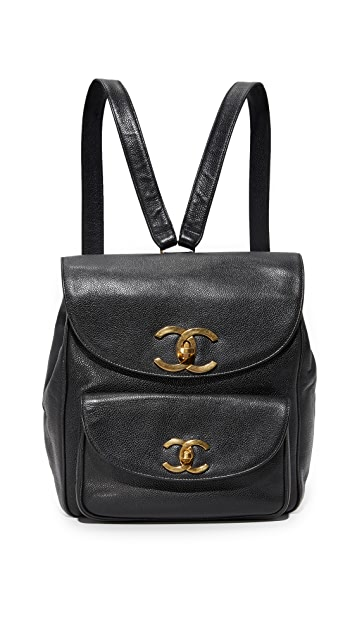 What Goes Around Comes Around Chanel Caviar Backpack (Previously Owned)