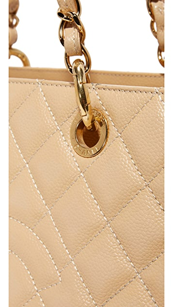 What Goes Around Comes Around Chanel CC Quilted Tote (Previously Owned)