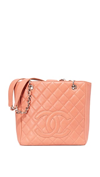 What Goes Around Comes Around Chanel CC Small Tote (Previously Owned) - Pink