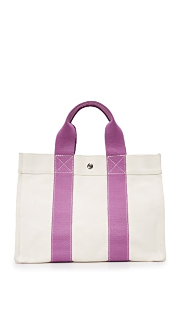 What Goes Around Comes Around Hermes Bora Bora Tote (Previously Owned)