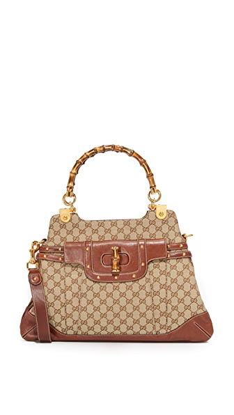 What Goes Around Comes Around Gucci Bamboo Pop Bag (Previously Owned)