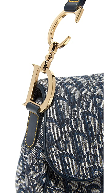 What Goes Around Comes Around Dior Saddle Bag (Previously Owned)