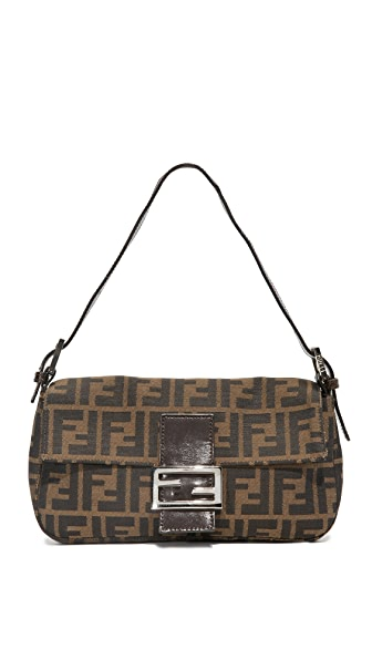 What Goes Around Comes Around Fendi Zucca Baguette Bag (Previously Owned) - Brown