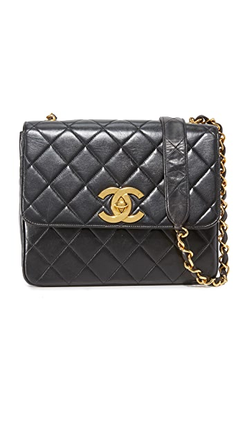 What Goes Around Comes Around Chanel Big CC Square Bag (Previously Owned)