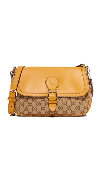 What Goes Around Comes Around Gucci Shoulder Bag (Previously Owned) - Yellow