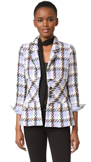 What Goes Around Comes Around Chanel Plaid Jacket (Previously Owned)