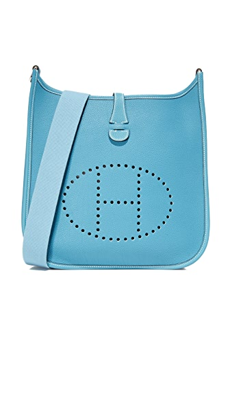What Goes Around Comes Around Hermes Evelyne I Feed Bag (Previously Owned) - Blue