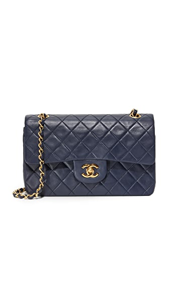 What Goes Around Comes Around Chanel 2.55 Classic Flap Bag (Previously Owned) - Navy