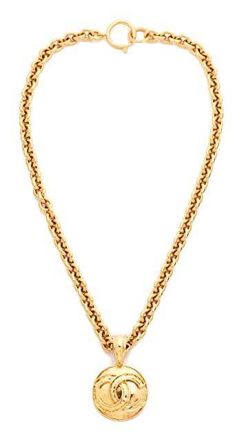 What Goes Around Comes Around Chanel CC Round Necklace (Previously Owned)