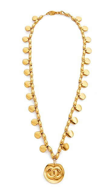 What Goes Around Comes Around Chanel CC Bead Necklace (Previously Owned)