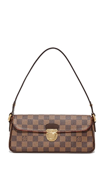 What Goes Around Comes Around Louis Vuitton Damier Ebene Ravello Bag (Previously Owned) In Brown