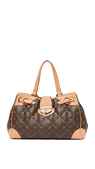 What Goes Around Comes Around Louis Vuitton Etoile Top Handle Shopper Bag (Previously Owned) In Brown