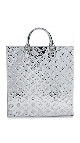 What Goes Around Comes Around Louis Vuitton Miroir Sac Bag (Previously Owned) - Silver