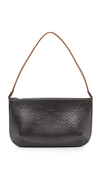 What Goes Around Comes Around Louis Vuitton Vernis Fowler Bag (Previously Owned) In Black