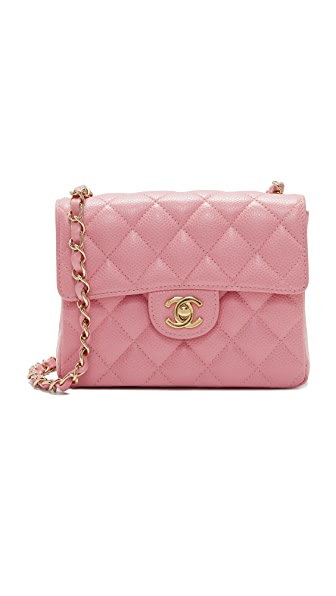 What Goes Around Comes Around Chanel Caviar Mini Flap Bag (Previously Owned)