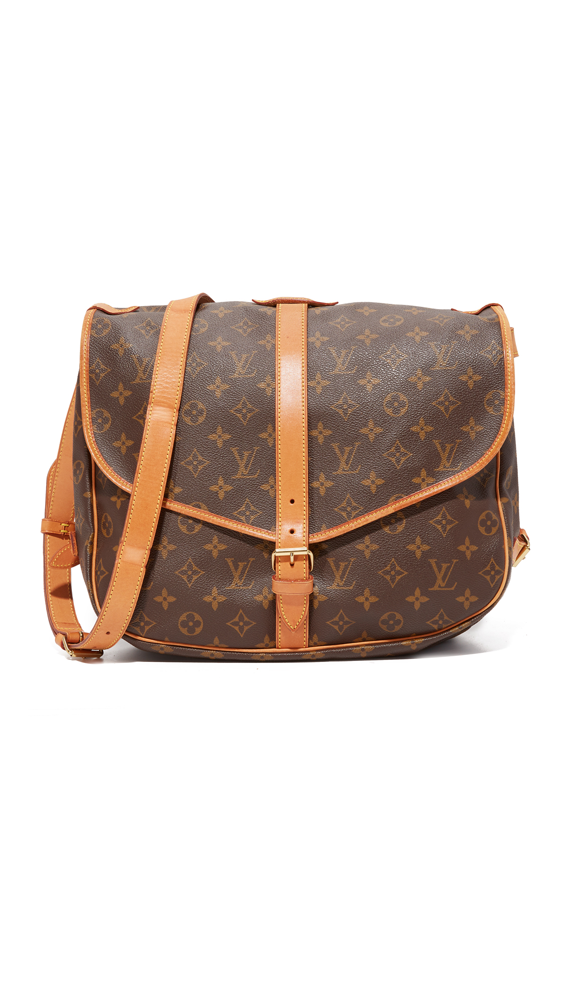 What Goes Around Comes Around Louis Vuitton Monogram Bag (Previously Owned) - Brown