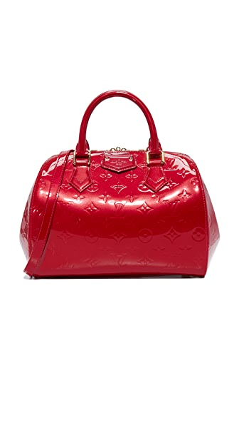 What Goes Around Comes Around Louis Vuitton Vernis Montana Bag (Previously Owned) - Red
