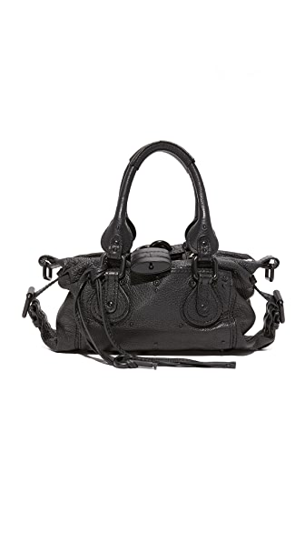 What Goes Around Comes Around Chloe Paddington Medium Bag (Previously Owned) - Black