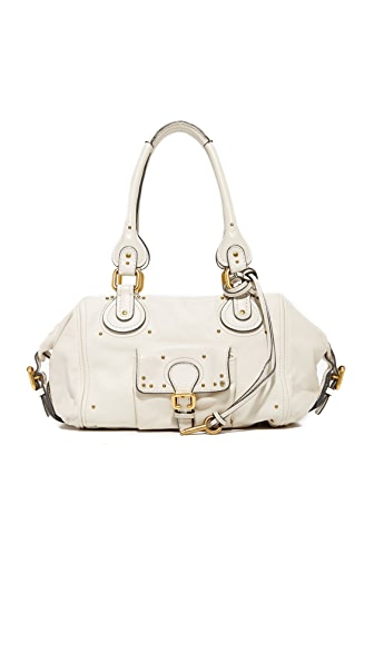 What Goes Around Comes Around Chloe Paddington Mini Bag (Previously Owned) - White