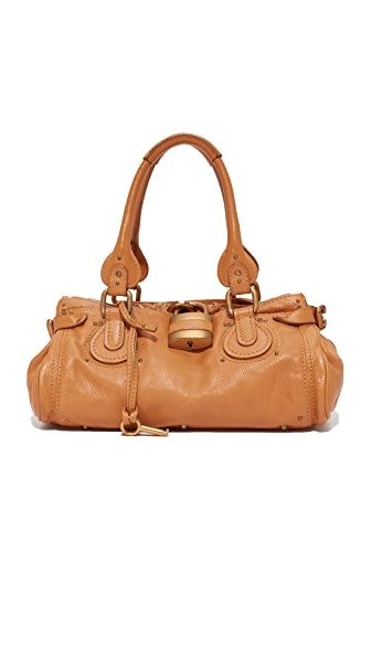 What Goes Around Comes Around Chloe Paddington Medium Bag (Previously Owned) In Brown