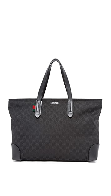 What Goes Around Comes Around Gucci Canvas GG Tote (Previously Owned)