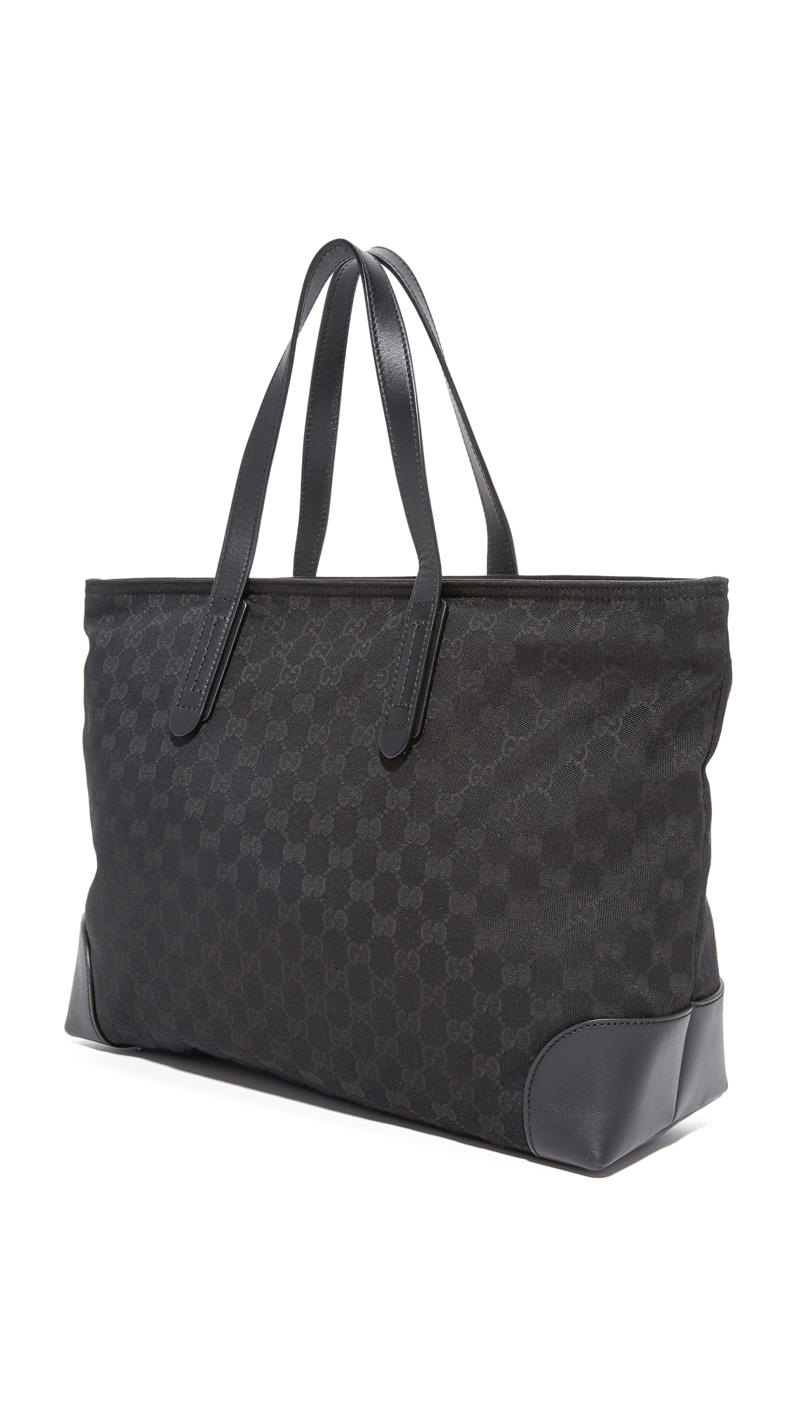 1311e46daf110c What Goes Around Comes Around Gucci Canvas GG Tote (Previously Owned)    SHOPBOP