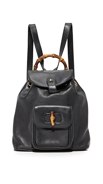 What Goes Around Comes Around Gucci Mini Backpack (Previously Owned) - Black