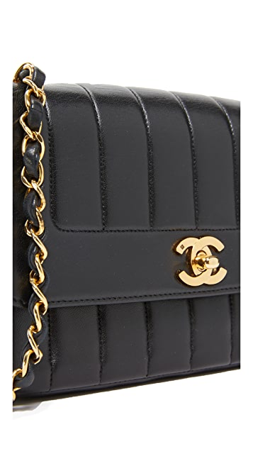 What Goes Around Comes Around Chanel Vertical Flap Bag (Previously Owned)