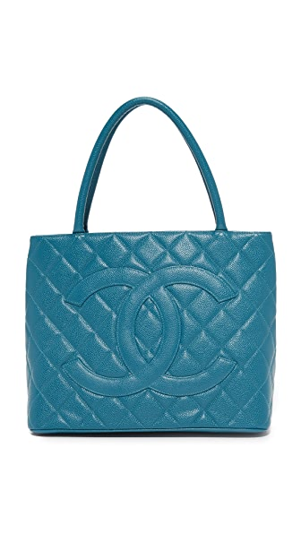 What Goes Around Comes Around Chanel Medallion Bag (Previously Owned) - Blue