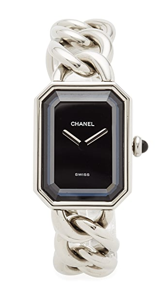 What Goes Around Comes Around Chanel Watch Premeir Watch (Previously Owned) - Silver