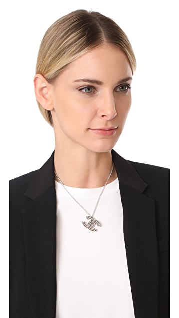 What Goes Around Comes Around Chanel Panching CC Necklace (Previously Owned)