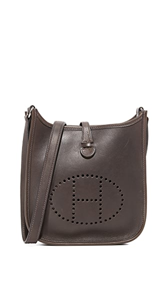 What Goes Around Comes Around Hermes Box Evelyne Bag (Previously Owned) - Brown