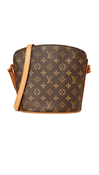 What Goes Around Comes Around Louis Vuitton Monogram Drouot Bag (Previously Owned) - Brown