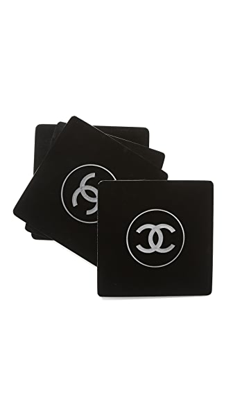 What Goes Around Comes Around Chanel Vanity Coasters Set of 4