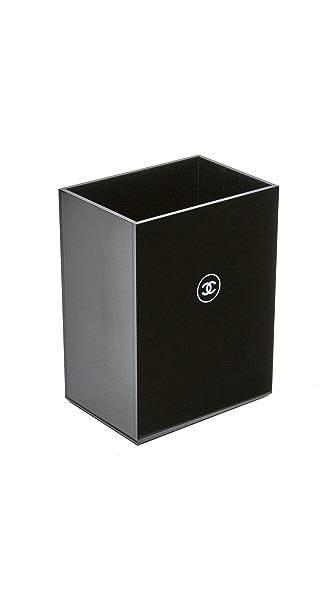What Goes Around Comes Around Chanel Black Garbage Bin
