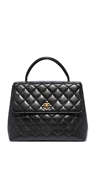 What Goes Around Comes Around Chanel Kelly Satchel (Previously Owned) - Black