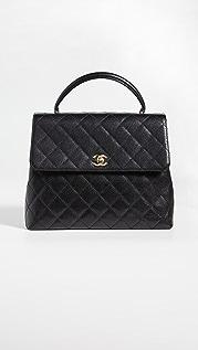 What Goes Around Comes Around Сумка-портфель Kelly от Chanel (бывшая в употреблении)