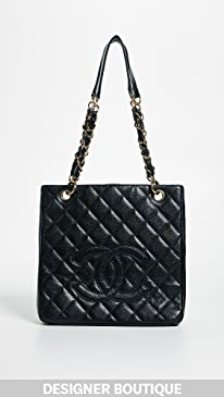 ae893df360f5 What Goes Around Comes Around. Chanel PST Tote ...