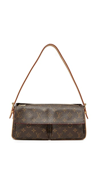 What Goes Around Comes Around Louis Vuitton Monogram Vicavite Shoulder Bag (Previously Owned) - LV Print