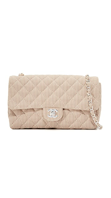 What Goes Around Comes Around Chanel Half Flap Shoulder Bag (Previously Owned)