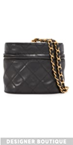 Chanel Quilted Bucket Bag (Previously Owned) What Goes Around Comes Around