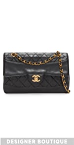 Chanel Border Quilted Bag (Previously Owned) What Goes Around Comes Around