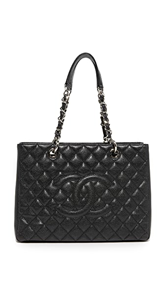 What Goes Around Comes Around Chanel Timeless CC Tote (Previously Owned) In Black