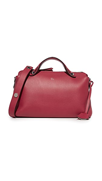 What Goes Around Comes Around Fendi By The Way Satchel (Previously Owned) - Red