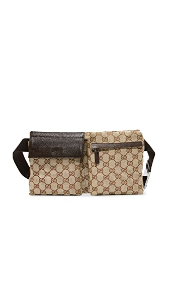 What Goes Around Comes Around Gucci Fanny Pack (Previously Owned) - Brown Multi