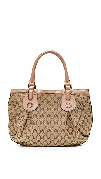 What Goes Around Comes Around Gucci Scarlett Tote (Previously Owned) - Pink Multi