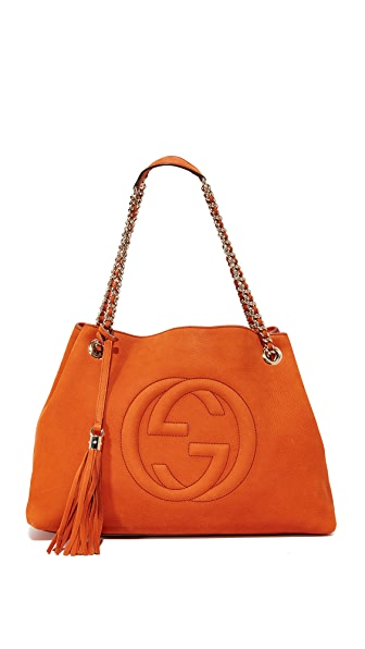 What Goes Around Comes Around Gucci Soho Tote (Previously Owned)