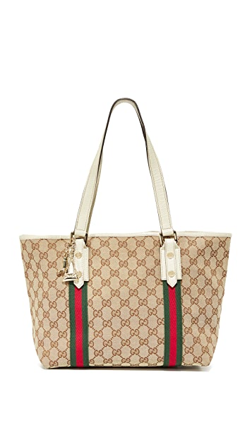 What Goes Around Comes Around Gucci Jolicoeur Tote (Previously Owned)